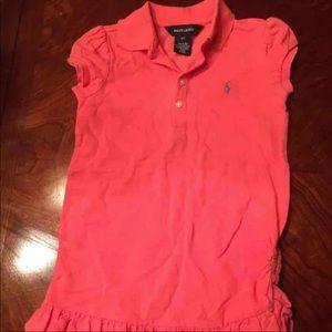 Ralph Lauren girls casual dress sz 4T